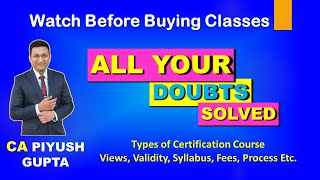 Everything About Online Certification Courses of Accountants & GST Income Tax, Mutual Fund Excel