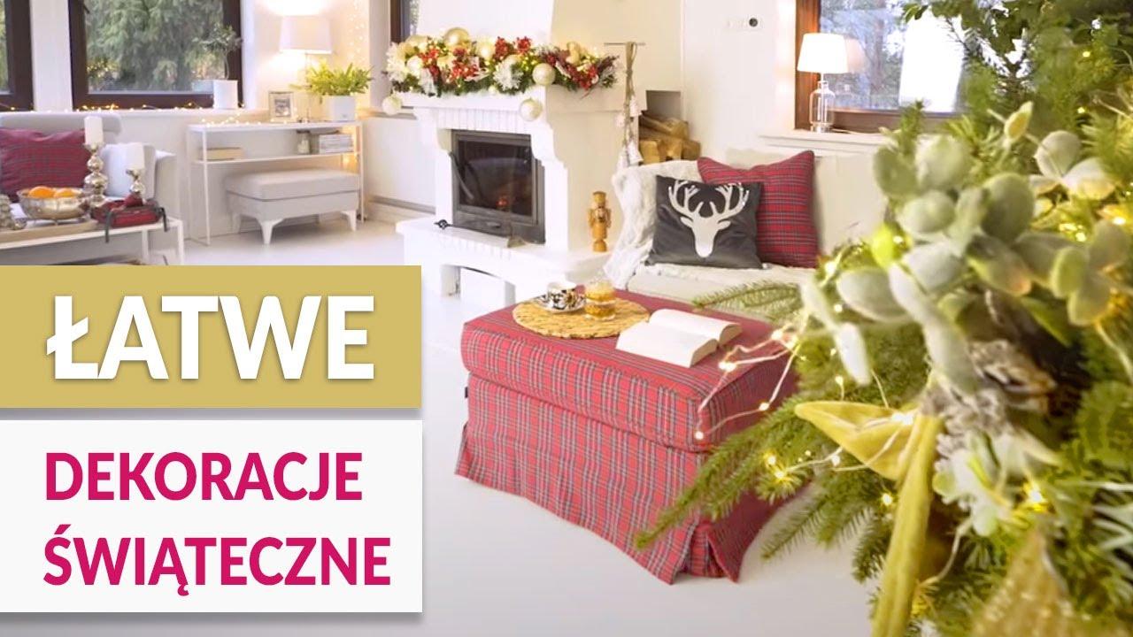 ???? Świąteczne dekoracje - 2 szybkie triki - ABC DOMU GREEN CANOE ????
