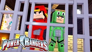 POWER RANGERS - THE GREEN AND RED RANGERS ARE IN PRISON?