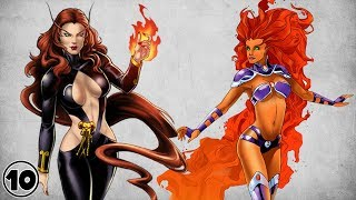 Top 10 Hottest Female Super Heroes Part 4