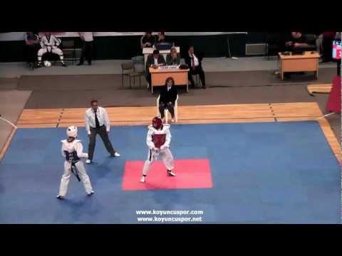 54kg Cagri Coskun - Ferdi Karaman  (2012 Turkish Taekwondo Championships Under -21)