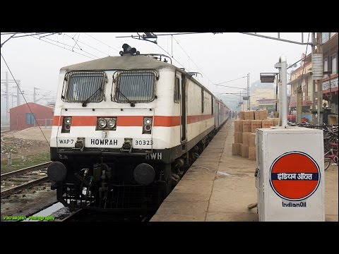 HOWRAH RAJDHANI EXPRESS - Full Journey In First AC Mughalsarai - Gaya (Part 3)