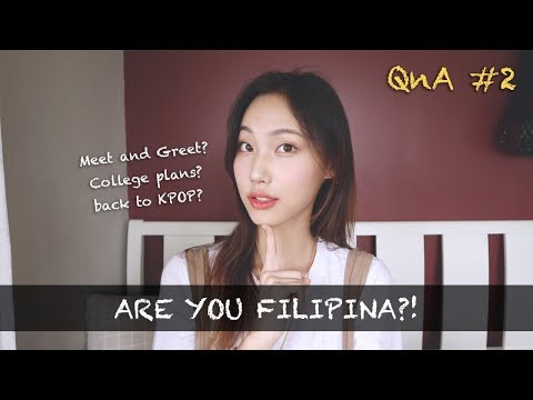 Q&A 2: Filipina? Back to KPOP? Meet and greet?
