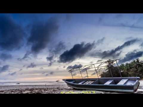 Time lapse of the sunrise at Tanjung Simpang Mengayau Sabah.