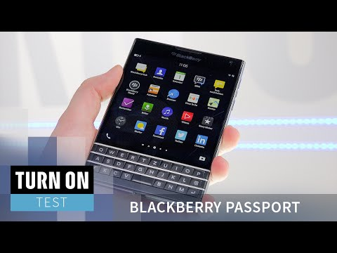 Blackberrys Rettung? Blackberry Passport - TEST - 4K