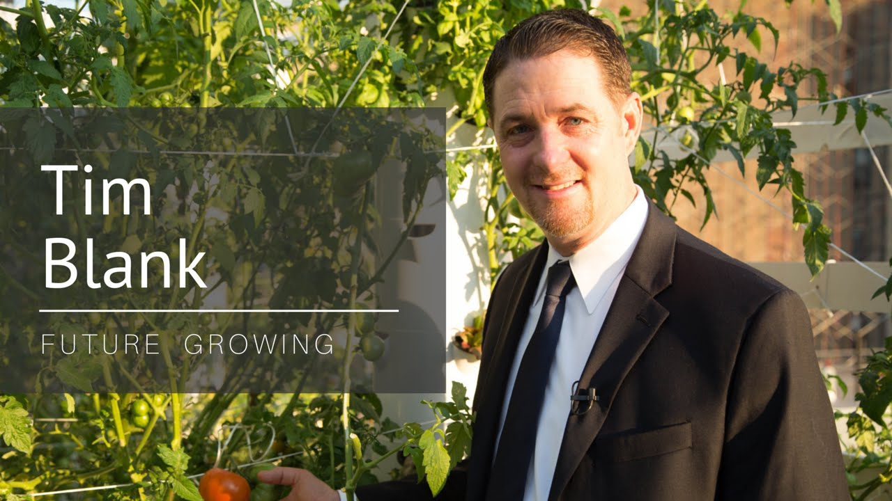Meet Tim Blank Developer Of Tower Garden President Future Growing Llc