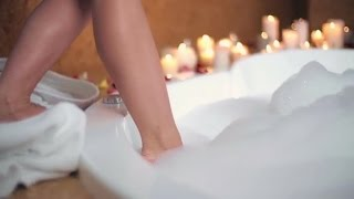 Relaxing Bath Time | Stock Footage - Videohive