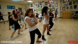 """All Aboard (Ride It)"" - Chingy - FUNKMODE Youth Hip Hop Dance Class - September 2013"