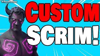 🔴 CUSTOM MATCHMAKING SCRIMS (W/SUBS) Fortnite xbox live