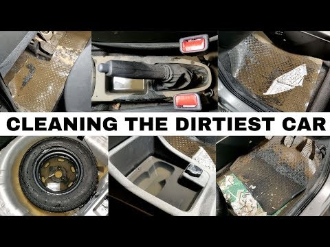 Cleaning the Dirtiest Car of The Season- Hindi | Interior Cleaning | CarzSpa Pune