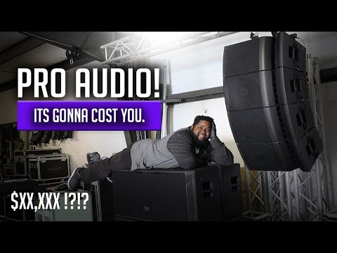 MY PRO AUDIO RIG EP. 1 | HOW MUCH DOES IT COST TO GET INTO LIVE SOUND?