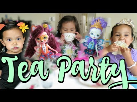 A Very Enchanted At Home Tea Party