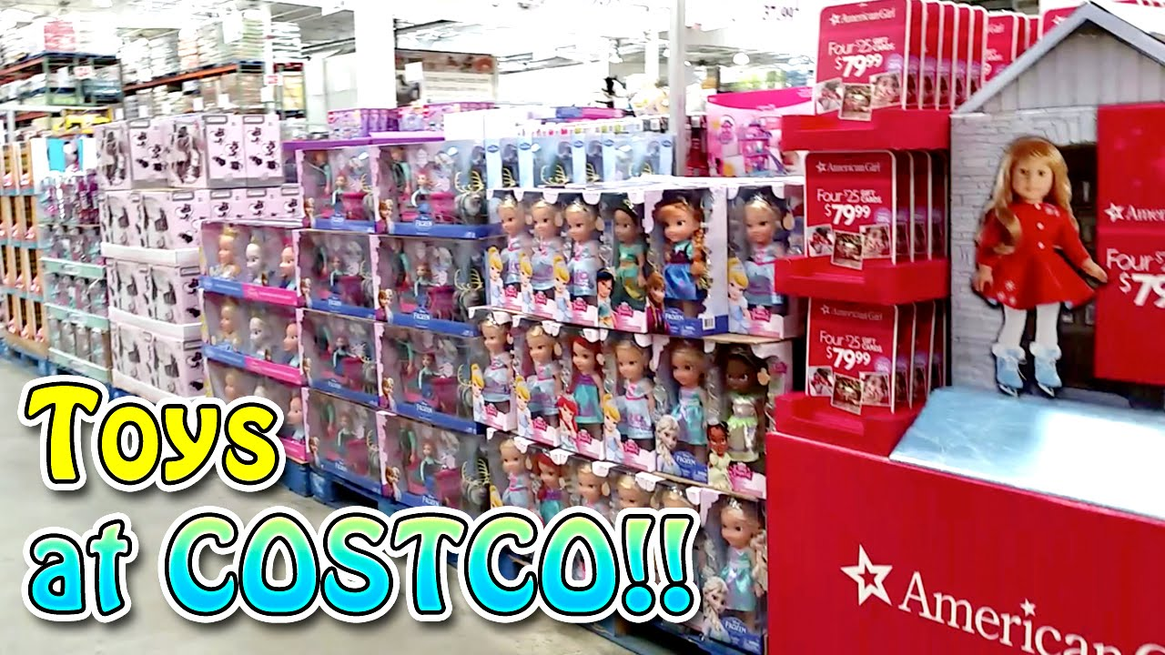 Toys For Life : Toys at costco mini toy hunting vlog american girl