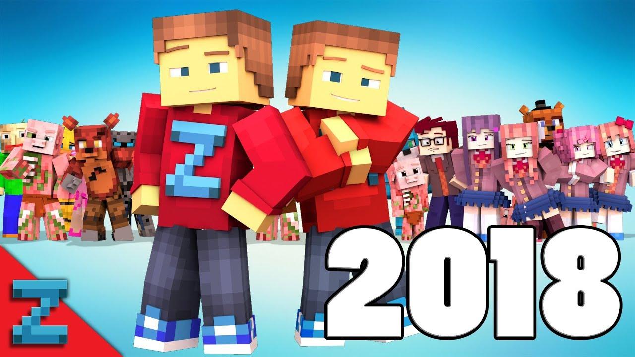 Best of ZAMination  11  (Minecraft Animation)