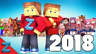 Best of ZAMination Productions | 2018 | (Minecraft Animation)
