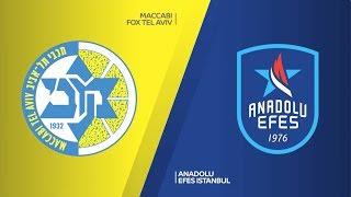 #EuroLeague 26. Hafta: Maccabi FOX Tel Aviv - Anadolu Efes