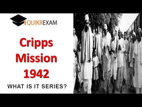 Cripps Mission 1942 Indian history