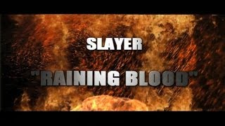 SLAYER - Raining Blood    (8 strings full cover)