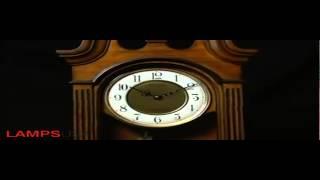 Shop Wsm Tiara Ii Musical Wall Clock Wooden By Rhythm Clocks From Lampsusa