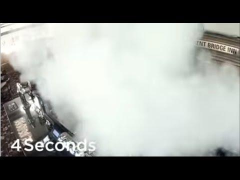 Smoke Fogging Security System Ruins Thieves Visibility Secom