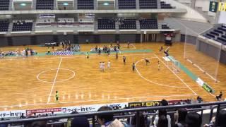 【Fリーグ2013】デウソン神戸 vs 名古屋オーシャンズ 前半