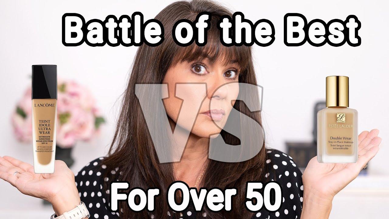 Estee Lauder vs Lancome | Is Double Wear Still the Best for Mature Skin?