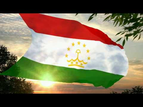 Flag and anthem of Tajikistan