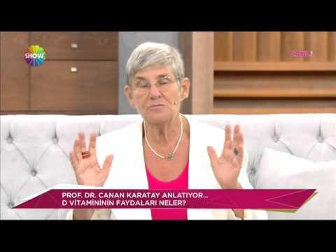 Prof Dr Canan Karatay D Vitaminin Faydalarini Anlatiyor Youtube