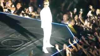 "JUSTIN BIEBER (01) ""BELIEVE"" TOUR ~ 'ALL AROUND THE WORLD' 'TAKE YOU' ~ MIAMI FL JAN 27, 2013"