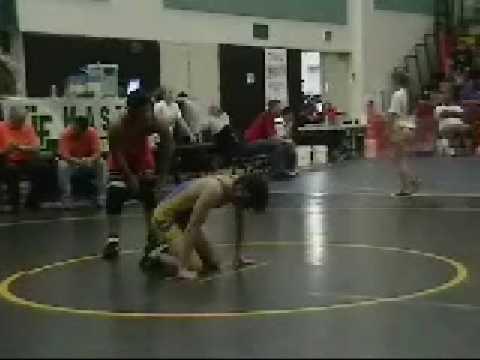 MASTER WRESTLING 2009 FIRST FIGHT RENZO SALAZAR