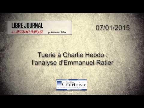 Tuerie à Charlie Hebdo  l'analyse d'Emmanuel Ratier