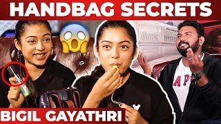 Singappenney Varsha Bollamma Handbag Secrets Revealed By VJ Ashiq | What's Inside the Handbag?