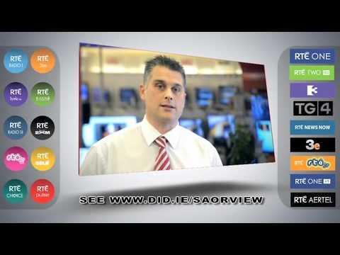 Saorview Digital Switchover Ireland