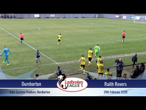 Dumbarton Raith Goals And Highlights