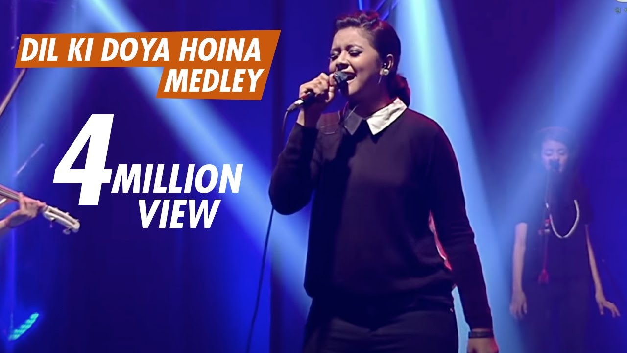 DIL KI DOYA HOINA MEDLEY - TAPOSH FEAT. OYSHEE : WIND OF CHANGE [ PRE-SEASON ] at GAAN BANGLA TV