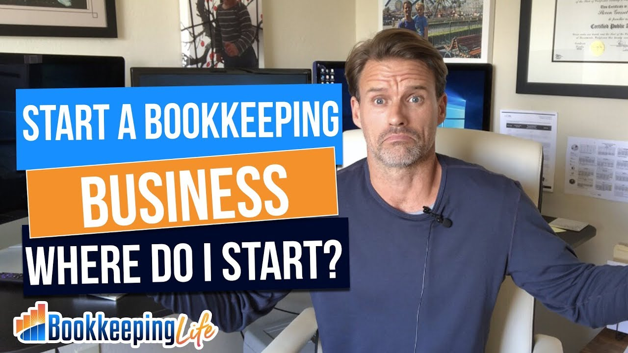 Starting A Bookkeeping Business From