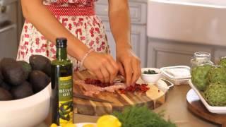Low-fat Greek Feta Chicken Recipe : Greek Cooking