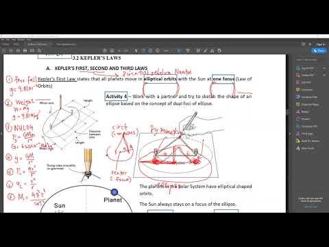 Physics KSSM Form 4 - Kepler's Laws