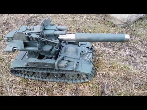 280 мм на маленький скорпион м 56 слишком мощно и печально