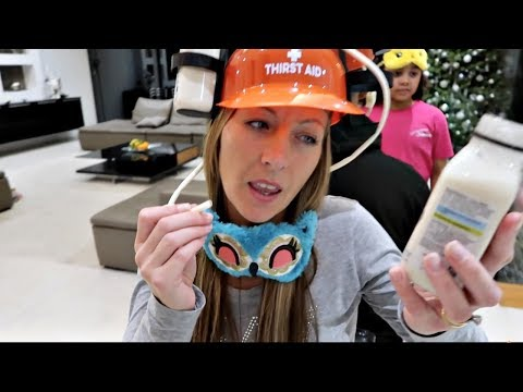 SODA VS COCA COLA VS SMOOTHIE CHALLENGE! Drinks Helmet Guessing Game | Famtastic