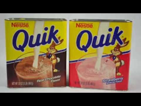 *The Cereal Man* Nestle Strawberry Quik - YouTube