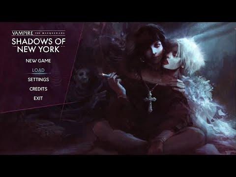 GAMEPLAY Vampire: The Masquerade - Shadows of New York visual novel RPG |