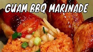 Guam Recipes - Chamorro Bbq Or Guam Bbq Marinade Recipe