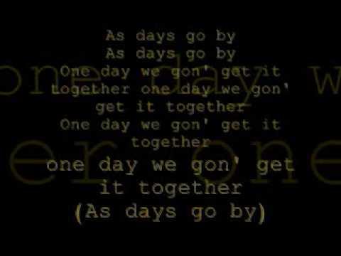 as days go by (love letter) lyrics paula deanda and baby bash