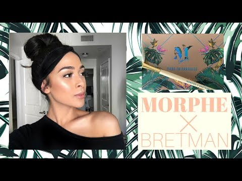 MORPHE X BRETMAN ROCK HIGHLIGHTER PALETTE | Anika Kialani