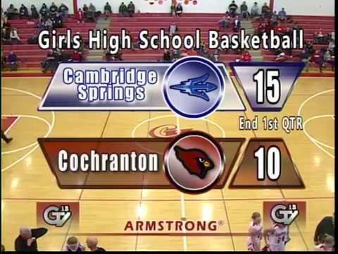 Cambridge Springs vs Cochranton-Girls High School Basketball
