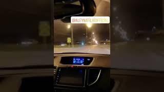 Araba snapleri gece gezmesi
