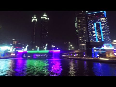 Full Cruise Tour through Downtown Dubai (Business Bay)