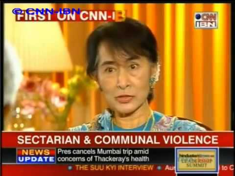 Aung San Suu Kyi   Interview with CNN IBN, November 15, 2012