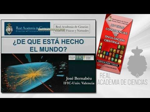 José Bernabéu Alberola, 7 de marzo de 2019.9ª conferencia delXV CICLO DE CONFERENCIAS DE DIVULGACIÓN CIENTÍFICA.CIENCA PARA TODOS 2019▶ Suscríbete a nuestro canal de YouTubeRAC: https://www.youtube.com/RealAcademiadeCienciasExactasFísicasNaturales?s